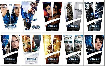 10 Valerian and the City of a Thousand Planets 2017 Promo PVC Transparent CARD