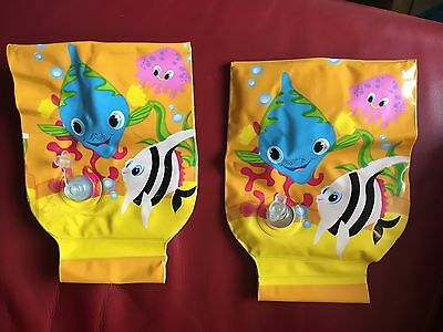 Kids inflatable armbands 3/6 years, mass range 18/30kg – very good conditions
