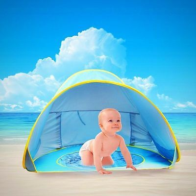 Baby Beach Tent Pop Up Umbrella Pool UV Protection Sun Shelter Canopy Baby