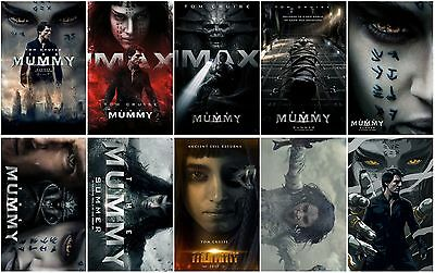 10 The Mummy Movie 2017 New Mummy Promo Card PVC CHARACTOR Transparent CARD