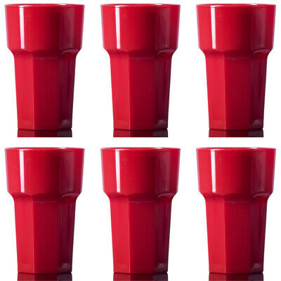 Elite Reusable Red HiBall Remedy Half-pint Pack of 6