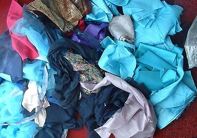 Job Lot Dressmakers Stash Clear Out Dress Fabric Offcuts Selling For Charity