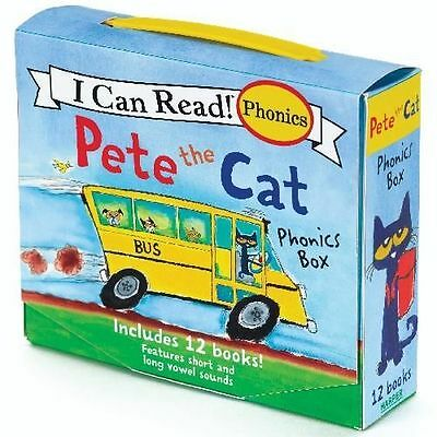 NEW Pete the Cat Childrens Books I Can Read Phonics Learn to Read Lot 12