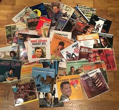 Country Music 1960's LP's Record Collection