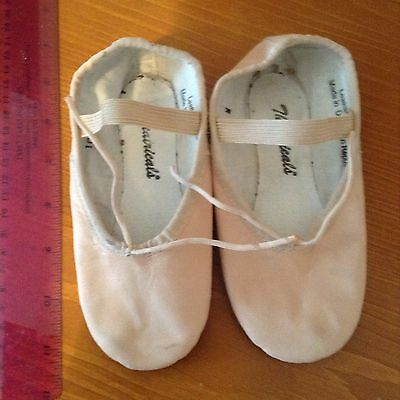 Theatricals Pink Leather Ballet Shoes~10 M