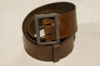 WW2 German Army Officers Belt and Claw Buckle