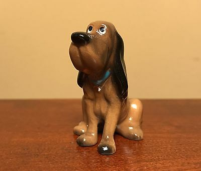 Hagen-Renaker Mini #5013 BLOODHOUND - Miniature Ceramic Dog Figurine