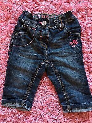 Next Baby Girls Jeans Age 3-6 Months