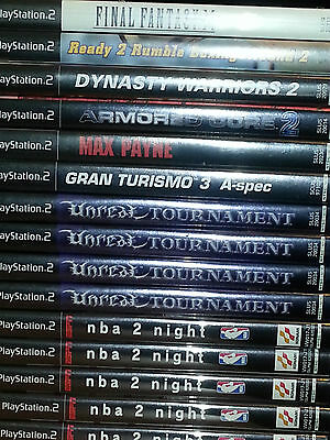 Job Lot 15 Playstation 2 Games Assorted Titles All Boxed Ps2 Ntsc Us