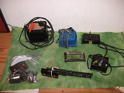 ( 7 pieces )   Lionel   O Scale   Three Working Transformers & Accs   Lot # RO.
