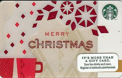 STARBUCKS USA 2013 - 6090 - Merry Christmas