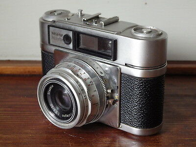 BRAUN PAXETTE 35mm VINTAGE CAMERA