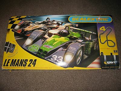 Scalextric Le Mans 24 Boxed Set - Very Good Condition ** (See description)