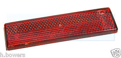 Genuine Land Rover Defender 2004-> O/E Red Rear Stick On Self Adhesive Reflector