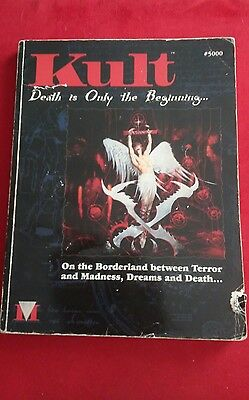 Kult Death Is Only The Beginning Rpg Metropolis Role Playing Game 1St Ed Sc Rare