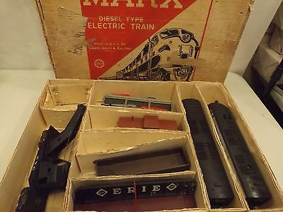 O Marx 41844 New Haven freight set in original box