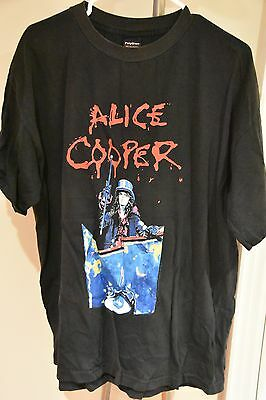 Alice Cooper - Rock n' Roll Carnival - Tour T-Shirt (Size XL) Fair Condtion