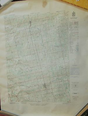 ONTARIO PORT ELGIN 1952 Topographical Map Tara + Ellengowan