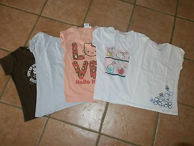 lot 5 T-shirts 10 ans