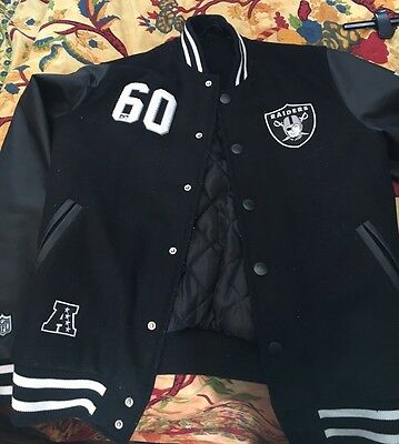 Raiders Jacket Size Small Mens NFL