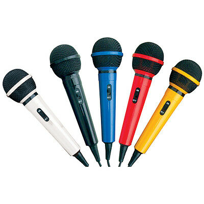 Soundlab G156KIT Microphone Kit with 5 Colours of Microphones