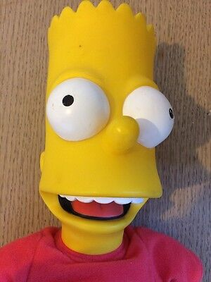 "THE SIMPSONS - RARE BART Interactive Talking Doll 16"" Playmates 2000"