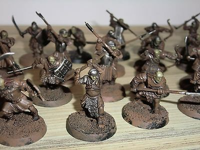 Lord of The Rings LOTR - Mordor Orcs x 24