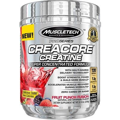 MUSCLETECH CREACORE PRO SERIES - 259 gr - Creatina ultraconcentrada