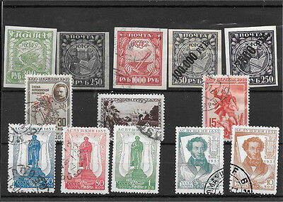 Russia Collection Of Used Stamps J059