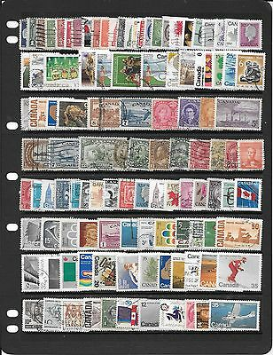 Canada Collection Of Used Stamps J057