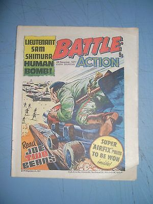 Battle Action issue dated December 24 1977