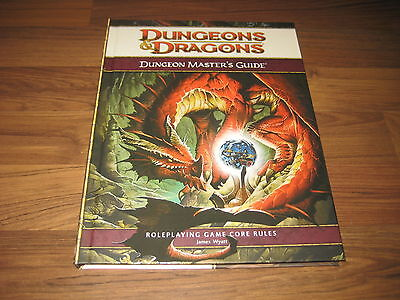 D&D 4th Edition Dungeon Masters Guide Core Rules HC  WotC 2008 New Mint Neu