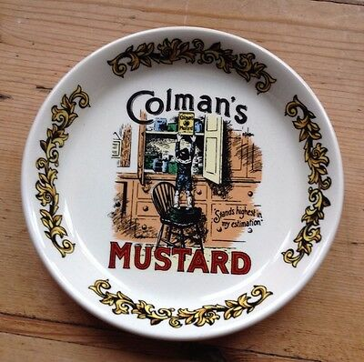 Colman's Mustard Small Plate Pin Dish by Lord Nelson Pottery