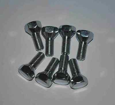 Set Of 8 Chrome Wheel Nuts For Small Frame