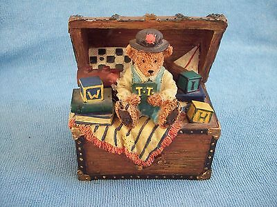 Regency Fine Arts TRAVELLING TEDDIES The Toy Chest Limited Edition Collectable