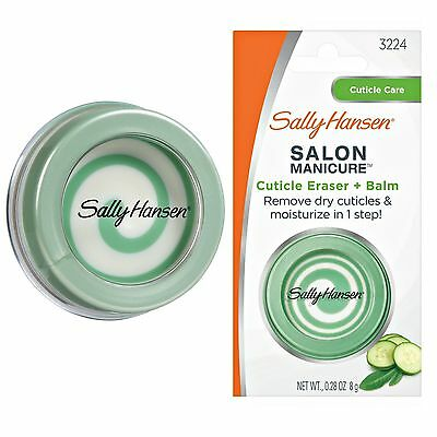 SALLY HANSEN Salon Manicure Cuticle Eraser & Balm - Cuticle Remover -