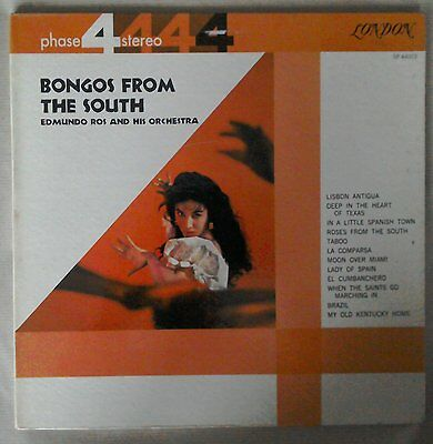 Edmundo Ros, Bongos from the South SP44003 London Phase 4 Four Stereo lp