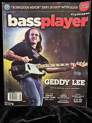 BASSPLAYER Magazine August 2012 V.23 N.8 Feature GEDDY LEE of RUSH (82 pages)