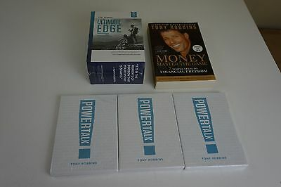 NEW Tony Robbins Ultimate Edge -  Get The Edge + Personal Power + Inner Strength