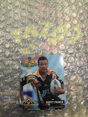 Nrl Rugby League 2006 Hot Shot Standard Tazo 28 Scott Prince Tazos Cards