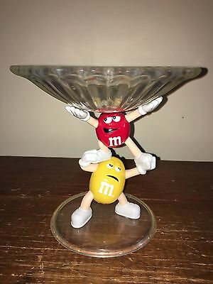 M & M's Yellow and Red M&M Candy Dish
