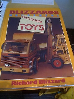 Vintage Classic Wooden Toys Plan & Making  Hardback Book Blizzard's Rolls Royce