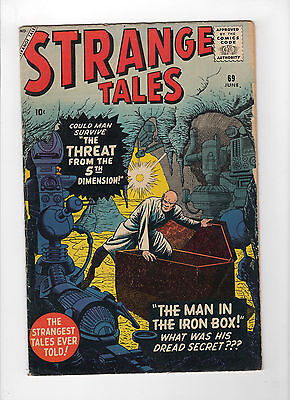 Strange Tales #69 (Jun 1959, Marvel) - Very Good/Fine