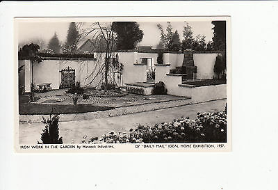 Iron Work Hancock Ind Vintage Postcard Daily Mail Ideal Home Exhibition 1957