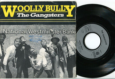GANGSTERS - Wooly Bully / We Are The Gangsters 45 UK 1980 TWO TONE SKA FRENCH PS