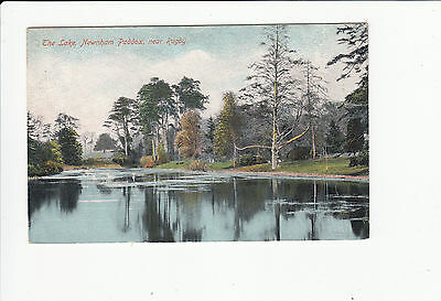The Lake Newham Paddox nr Rugby vintage Postcard