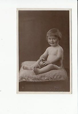 Young Child vintage Postcard by Cloud of Deansgate Manchester
