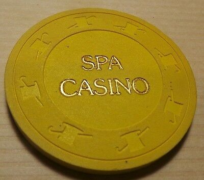 Spa Casino 50 cent Chip- Palm Springs, CA- VG Condition