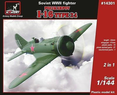 Armory 14301 Polikarpov I-16 Type 24 in 1/144