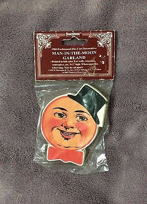 MAN IN THE MOON - GARLAND 8ft. Shackman & Co.1999 New